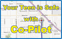 Co-pilot gps drivers training tracking